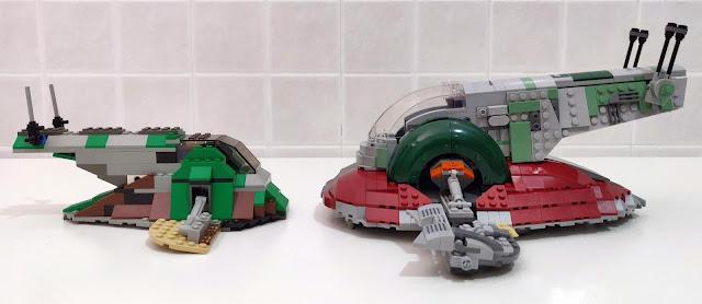 LEGO set 7144 vs 75243