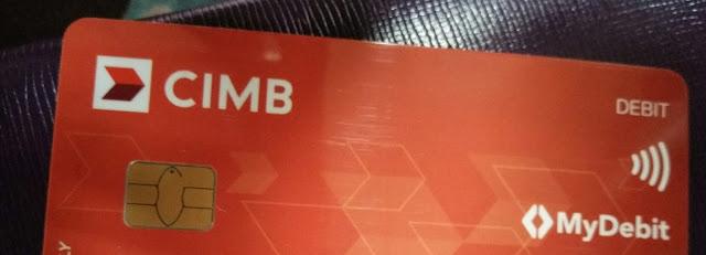 Dah Tukar Kad ATM CIMB Ke My Debit