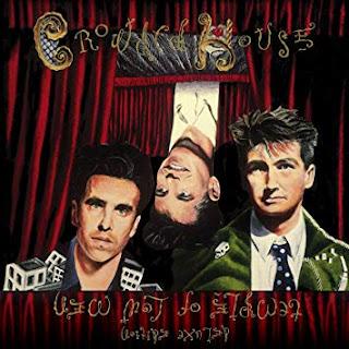 Portada del Album -Temple of Low Men - de la banda CROWDED HOUSE