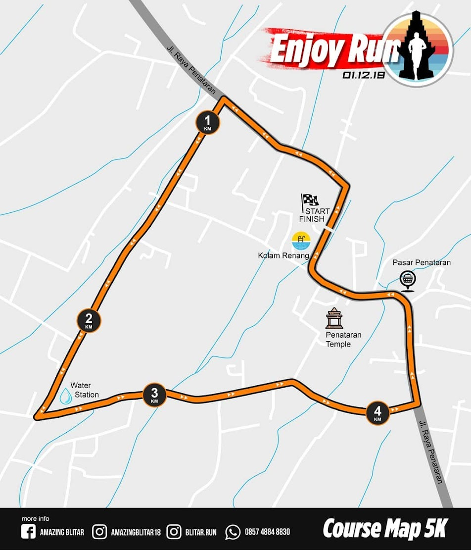Rute Enjoy Run 5K • 2019