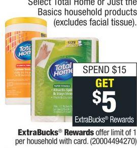 paper towel - toilet Paper cvs deals