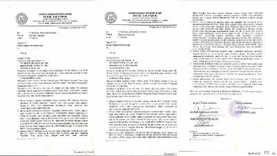 Asosiasi RPA-NTB Layangkan Somasi Kepada 2 Kades di Lotim