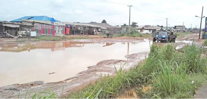 Rainy Season: Ogun Residents Bemoan State Of Community Roads