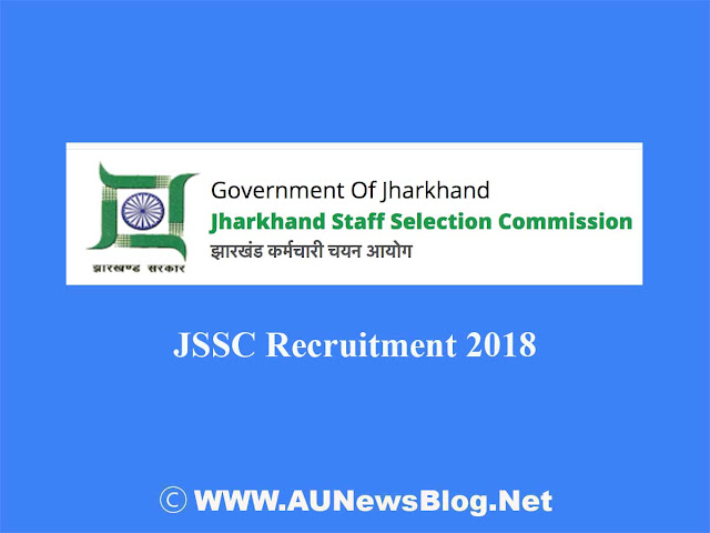 JSSC Recruitment 2018 - 3010+ Vacancies (Post Graduate Trained Teacher Job)