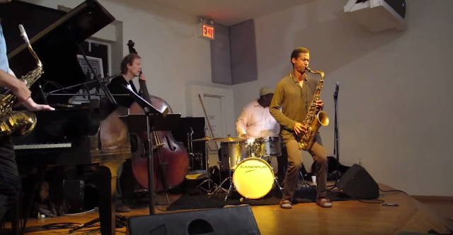 Mark Turner, Chris Potter, Ben Street, Johnathan Blake at The Jazz Gallery (September 2013)