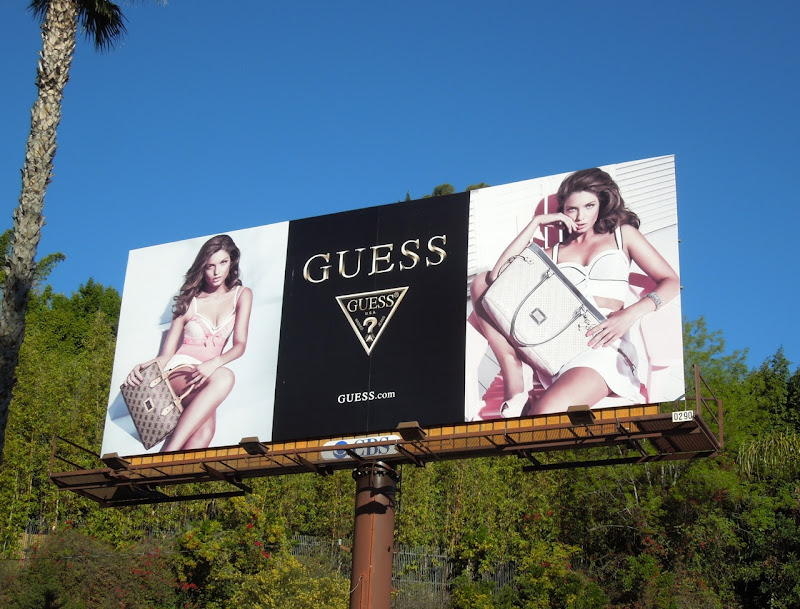 Guess Spring 2013 fashion billboard