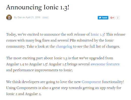 Announcing Ionic 1.3!