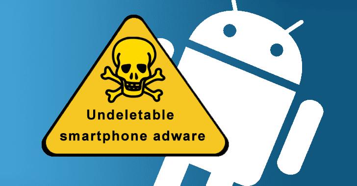Undeletable Adware