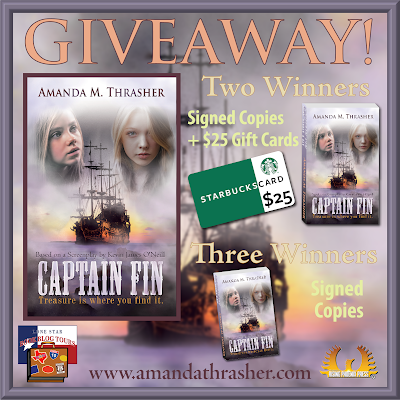 Captain Fin giveaway graphic