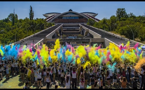 Yerevan Color Festival se llevará a cabo el 2 de junio