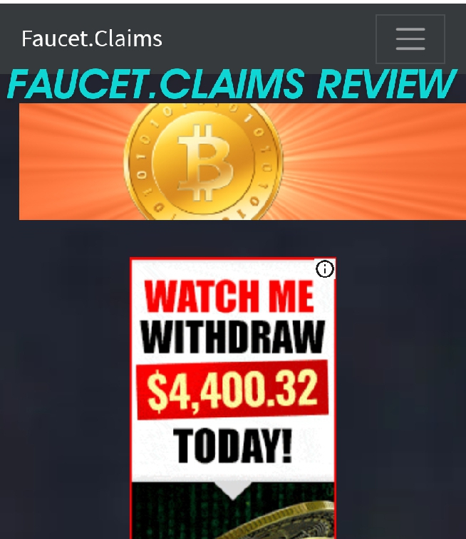 Faucet.claims Review | Free Bitcoin Faucet