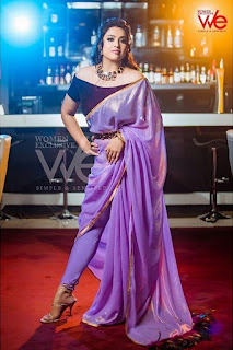 Tamil Actress Meena At We Magazine Latest Photoshoot