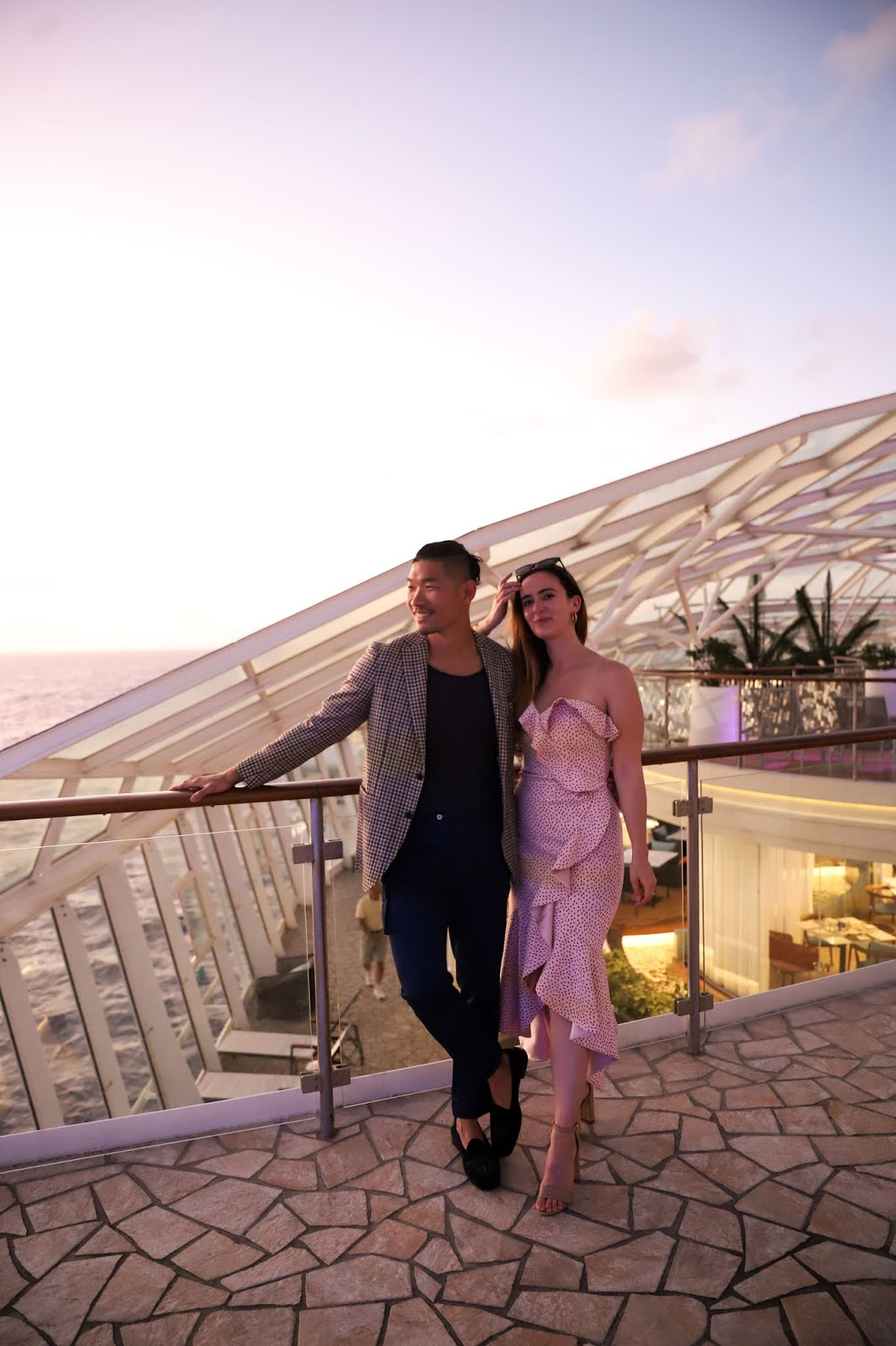 Alicia Mara and Leo Chan Solarium | Oasis of the Seas Couple's Review