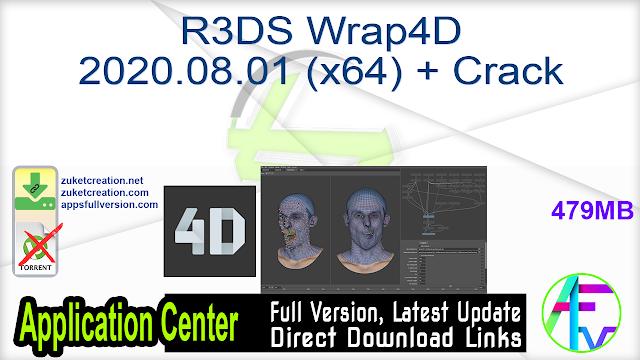 R3DS Wrap4D 2020.08.01 (x64) + Crack