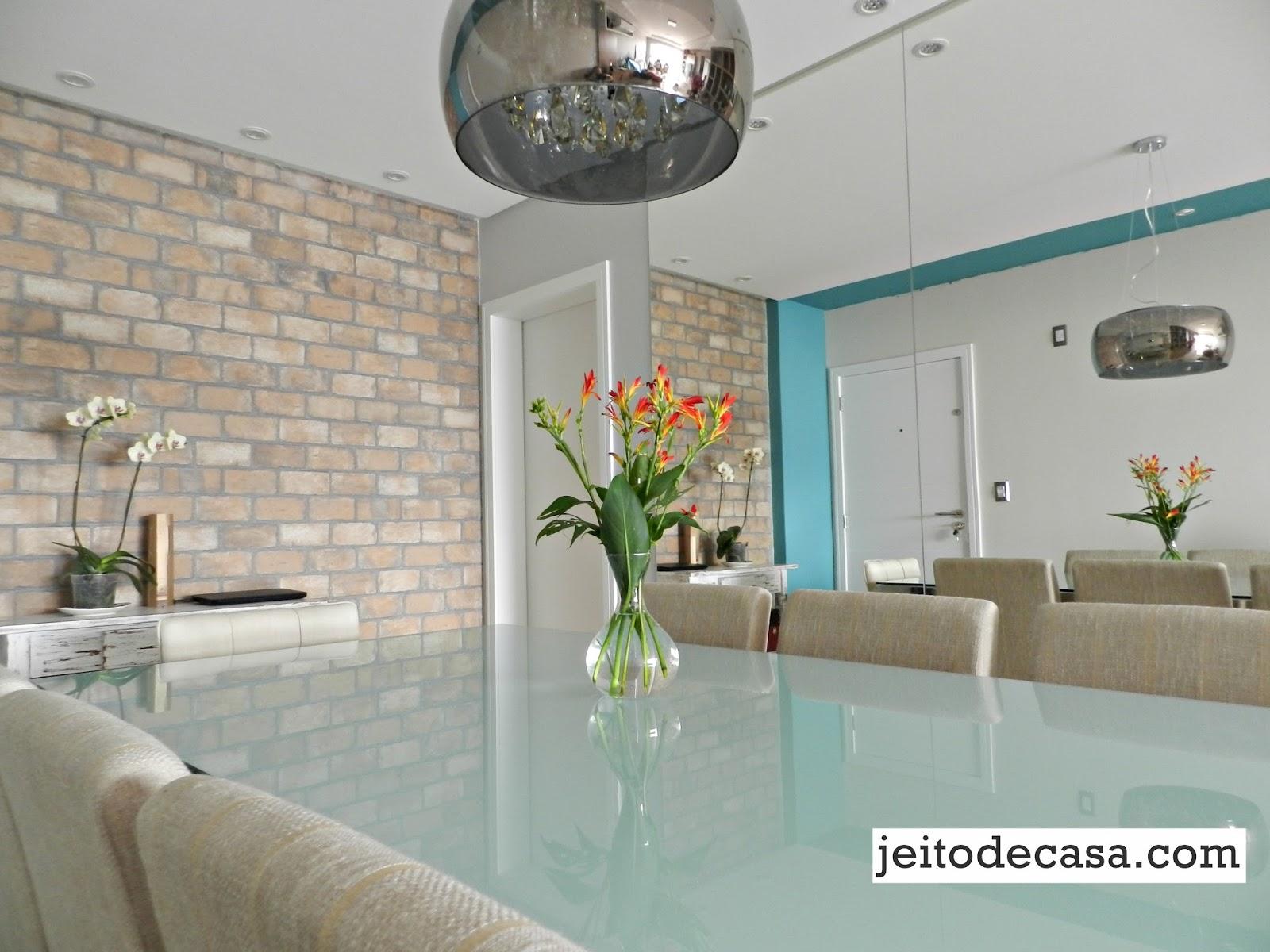 Armario Itatiaia Magazine Luiza ~ Decoraç u00e3o 10 salas de jantar com espelhos! Jeito de Casa Blog de Decoraç u00e3o e Arquitetura