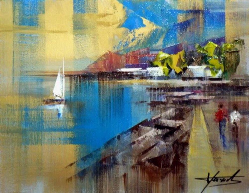 Im genes arte pinturas pintura moderna y de color - Cuadros pintura acrilica moderna ...