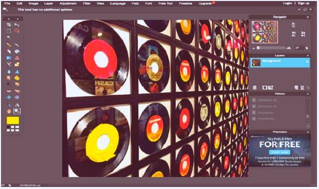 1. Pixlr Editor