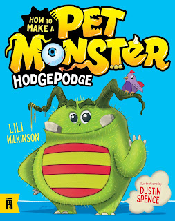 Hodgepodge: How to Make a Pet Monster by Lili Wilkinson, illustrated by Dustin Spence book cover
