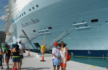 Allure or the Seas, crucero, Royal Caribbean