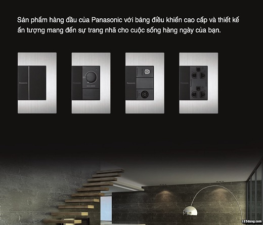 Công tắc ổ cắm Panasonic, Thiết bị điện Panasonic 3-1