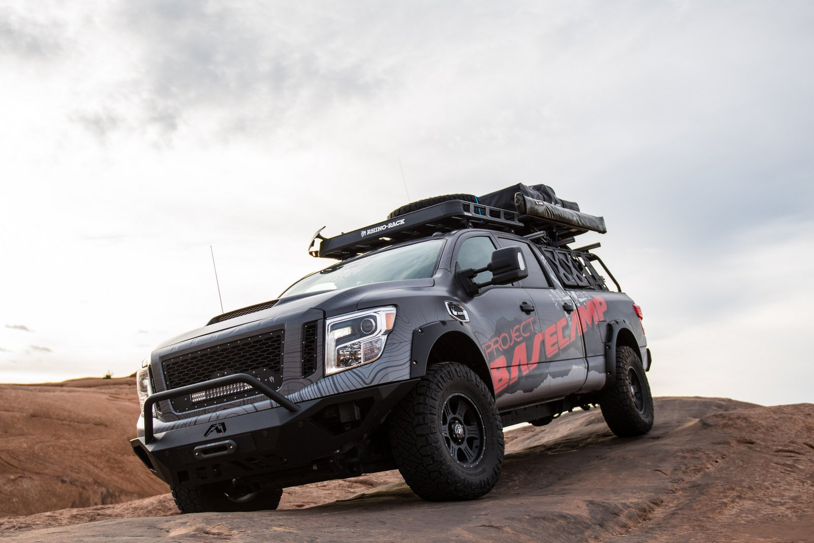 Nissan Titan Xd Pro 4x Project Basecamp Is One Tough Truck
