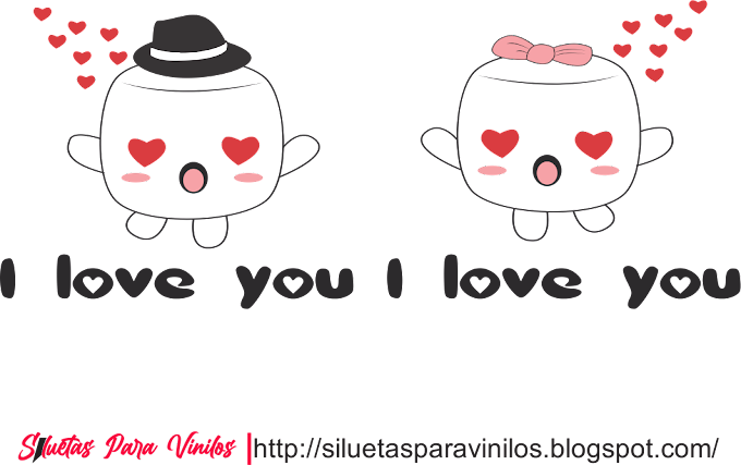 I love you vector free (ai, eps, cdr, clipart)