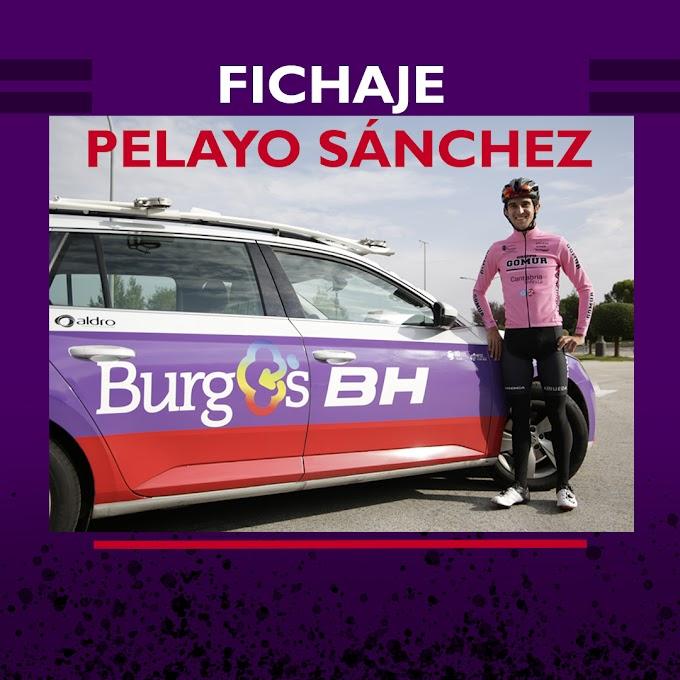 Pelayo Sánchez (Gomur - Cantabria Infinita) ficha para 2021 por el Burgos - BH