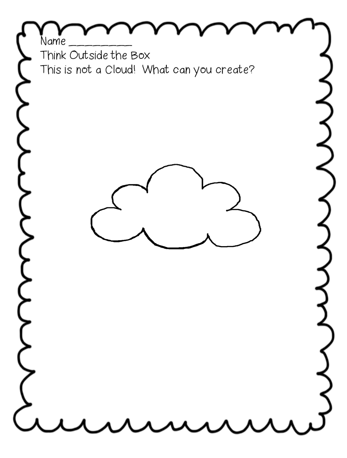First Grade Wow Curious Clouds