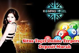 Situs Togel Online Terpercaya Deposit Murah