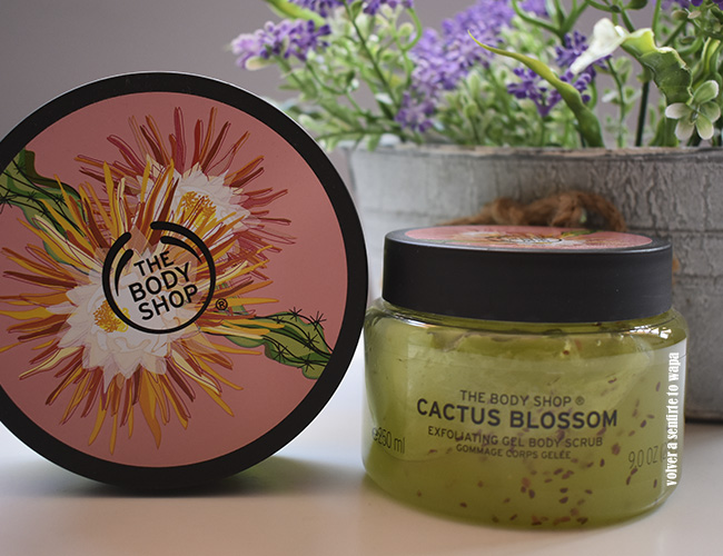 Manteca y Exfoliante Corporal de Cactus Flower de The Body Shop