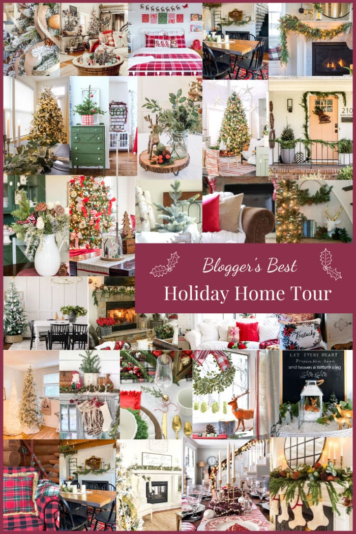 Bloggers best Christmas home decor tours