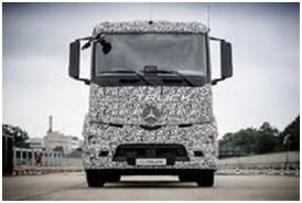 Mercedes-Benz: presentato il primo camion elettrico