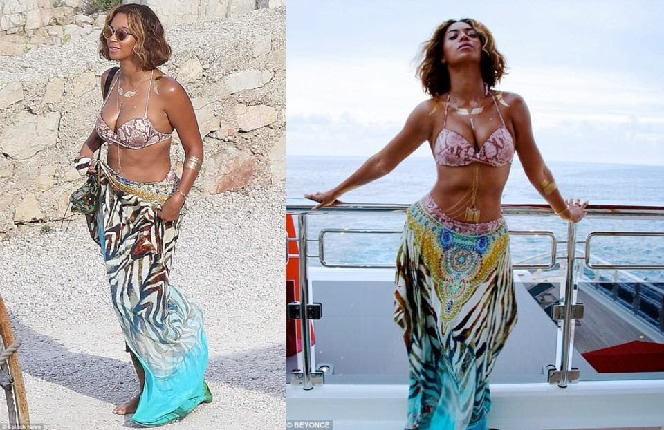 beyonce in camilla