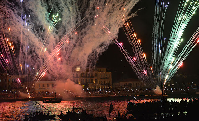 7 Σεπτεμβρίου η αναπαράσταση της πυρπόλησης της τουρκικής ναυαρχίδας στις Σπέτσες