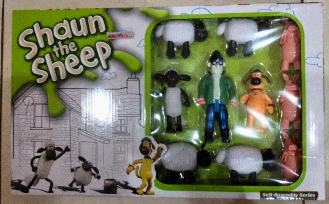SHAUN THE SHEEP FIGURES - Toko mainan anak lengkap dan