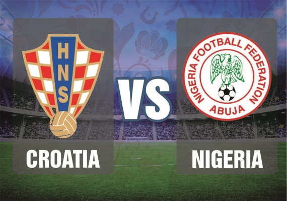 Croatia vs Nigeria, Group D fixture between Croatia and Nigeria