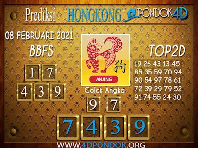 Prediksi Togel HONGKONG PONDOK4D 08 FEBRUARI 2021
