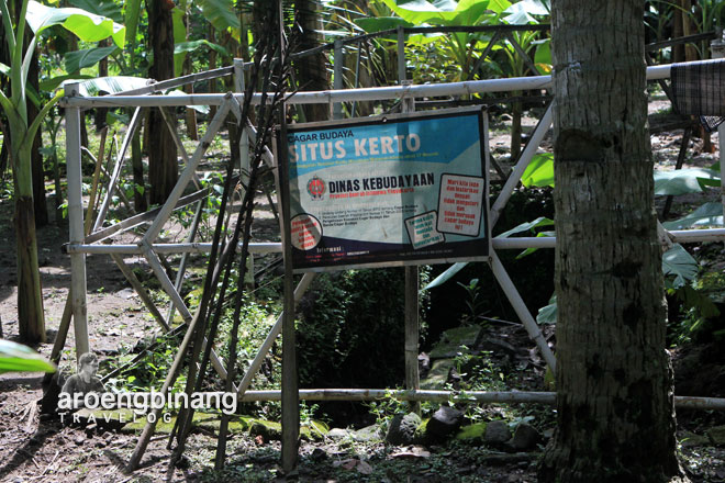 situs kerto pleret bantul yogyakarta