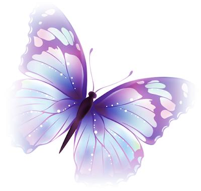 Gambar kartun kupu kupu cantik