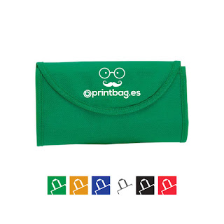 Bolsas plegables baratas verdes