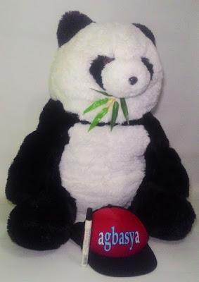 Boneka Koleksi Panda Bambu Jumbo Agbasya