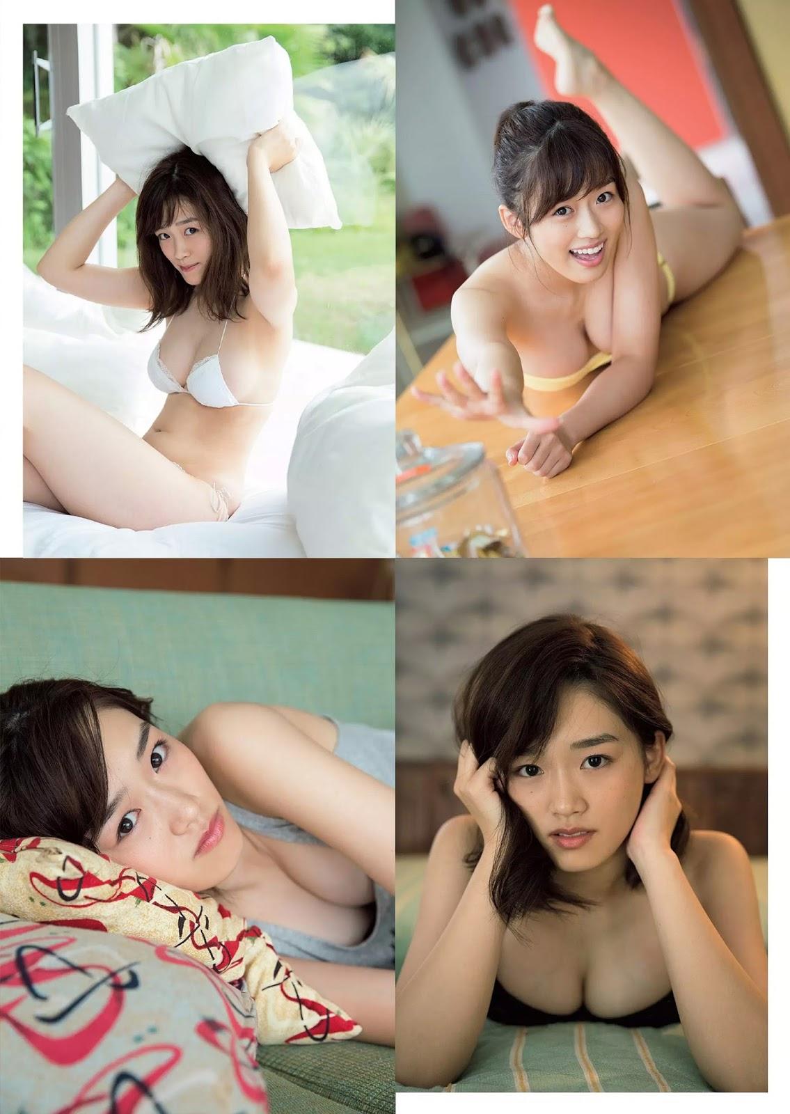 Umeta Ayano 梅田綾乃, Weekly Playboy 2017 No.49 (週刊プレイボーイ 2017年49号)