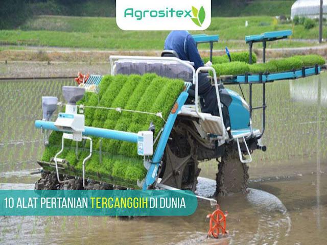 10 alat pertanian tercanggih di dunia