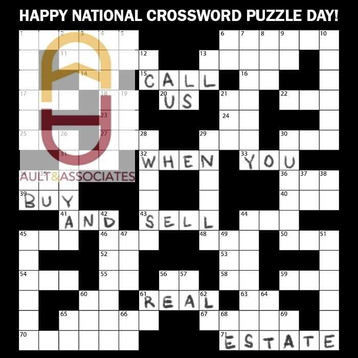 National Crossword Puzzle Day Wishes for Instagram