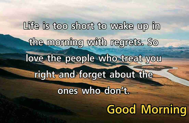 Good morning images with positive words