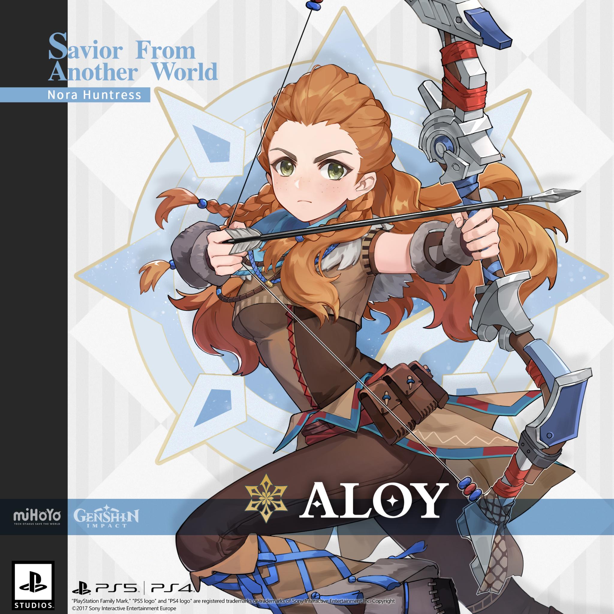 Aloy from Horizon Zero Dawn for Free at Genshin Impact