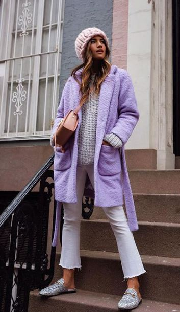 color lavanda colore autunno inverno 2019 2020 come abbinare il color lavanda come indossare il color lavanda abbinamenti color lavanda outfit invernali color lavanda lavander outfit how to wear lavander in winter come indossare il color lavanda in inverno come abbinare il color lavanda in inverno mariafelicia magno fashion blogger colorblock by felym fashion blog italiani fashion blogger italiane tendenze inverno 2019 winter trend street style