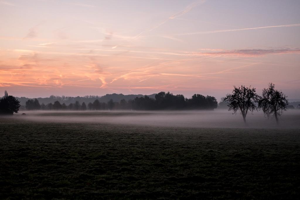 Sonnenaufgang im Herbstnebel by fim.works Lifestyle Blog