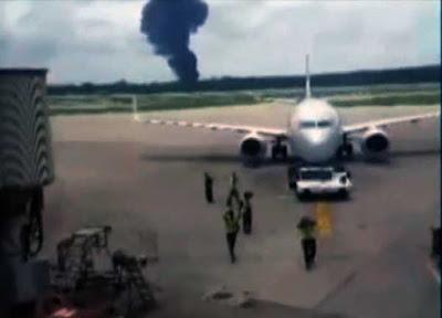 fotos accidente del Boeing 737, La Habana, Cuba