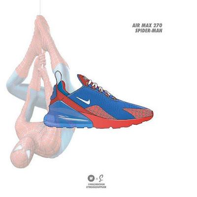 Spiderman x Nike Air Max 270